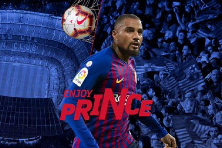 Barcelona dapat Kejutan Dari Kevin-Prince Boateng.