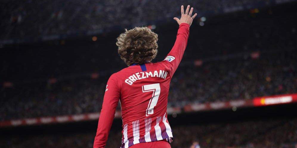 Begini Kata Ucapan Perpisahan dari Griezmann Untuk Atletico Madrid