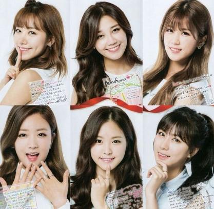 Profil & Fakta K-Pop A Pink (에이 핑크)