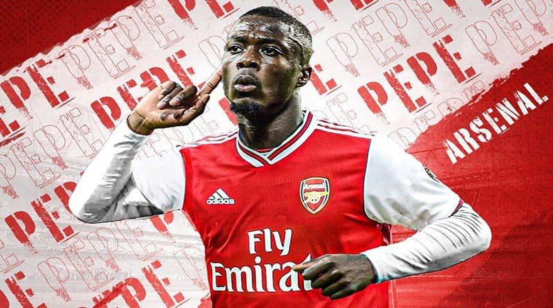 Pepe Memberikan Alasan Bergabung Dengan Arsenal