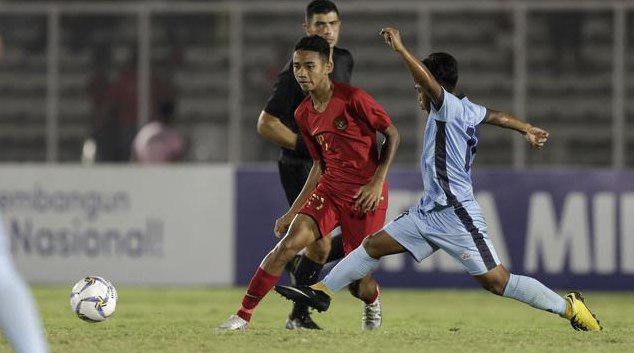 Indonesia Vs Maria Utara, Pesta Gol Timnas Indonesia U-16