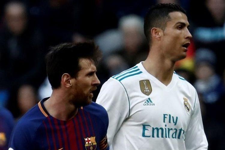 Cristiano Ronaldo dan Lionel Messi Bantu Negara Lawan Virus Corona